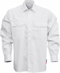 Fristads Kansas Baumwoll-Hemd Weiß | L