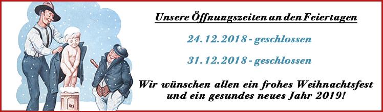 Banner Öffnungszeiten Feiertage